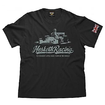 Retro GP OFFICIAL Hesketh 308 Vintage T Shirt