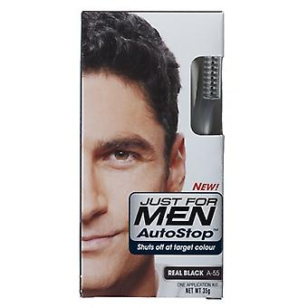 Just For Men 3 X Just For Men AutoStop Foolproof Haircolour Black (A55)