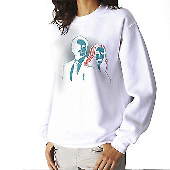 Truth Seekers Mulder and Skully X Files Women's Sweatshirt
