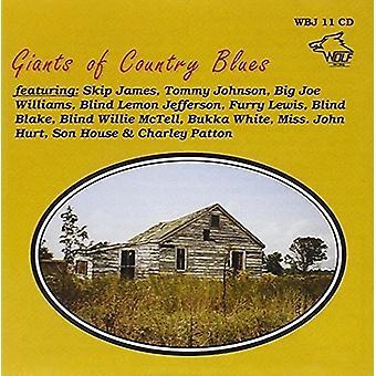 Forskellige kunstner - giganter af Country Blues [CD] USA import