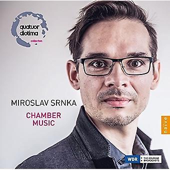 Srnka, Miroslav / Diotima, Quatuor / Latchoumia - Miroslav Srnka: kammermusik [CD] USA import