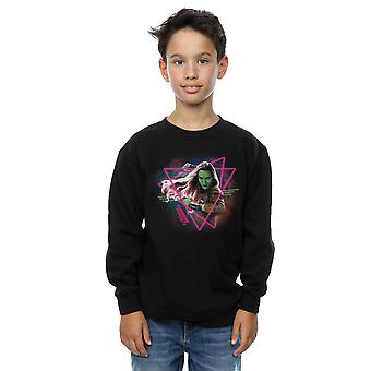 Marvel Boys Guardians of the Galaxy Neon Gamora Sweatshirt