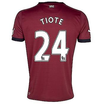 2012-13 Newcastle Puma Away Shirt (Tiote 24)