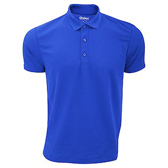 Gildan Mens Performance Sport Double Pique Polo Shirt