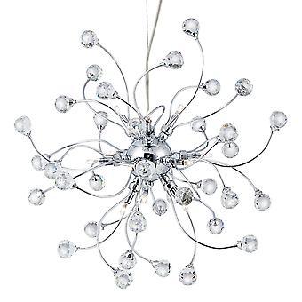 Searchlight 6629-12CC 12 Light Crystal Pendant light