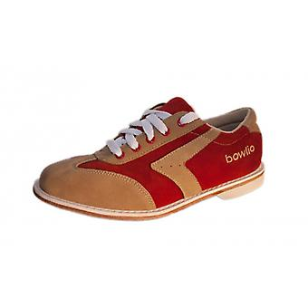 Bowling shoes - Bowlio Capri - suede with leather sole