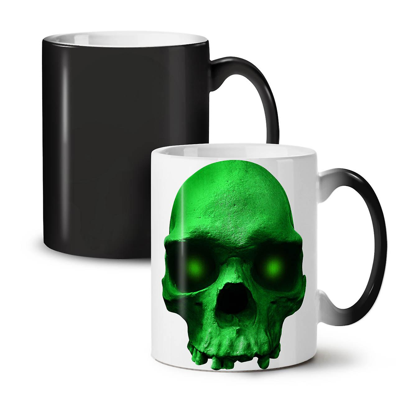 Hippie OzWellcoda Coffee Metal Changing Mug New 11 Ceramic Tea Green Colour Black iuOZPXk