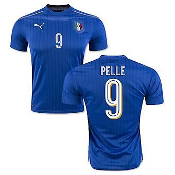 2016-2017 Italia Puma hjem skjorte (Pelle 9) - barn