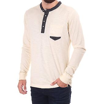 Pearly King Duty Ls Grandad Collar Top