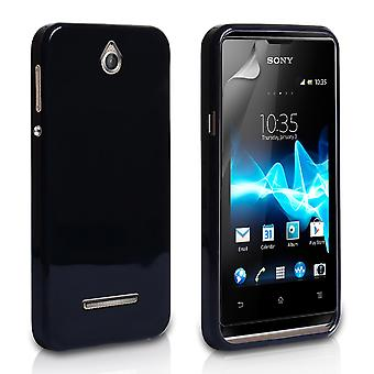 Yousave tillbehör Sony Xperia E Gel Case - svart