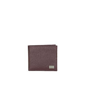Dolce E Gabbana men BP1321A100180308 Burgundy leather wallets
