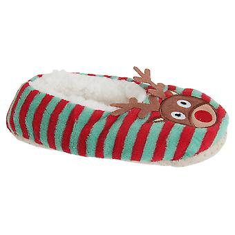 Slumberzzz Christmas Character Fluffy Grippy Slippers