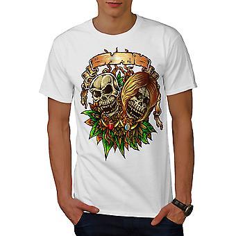 Till Death Do Us Part Men WhiteT-shirt | Wellcoda