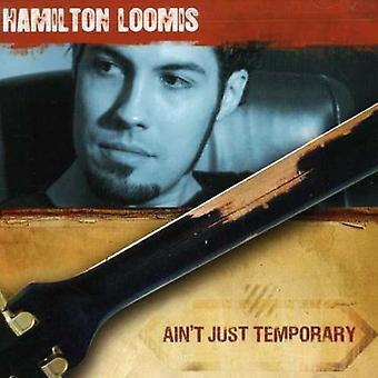 Hamilton Loomis - er ikke bare midlertidig [CD] USA importerer