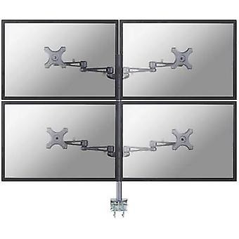 4 x Monitor desk mount 25,4 cm (10) - 68,6 cm (27) Swivelling/tiltable, Swiv