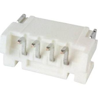 Built-in pin strip (standard) PH Total number of pins 4 JST S4B-PH-SM4-TB (LF)(SN) Contact spacing: 2 mm 1 pc(s)