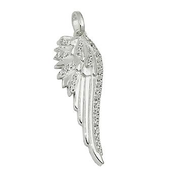 Pendant wing of an angel silver 925