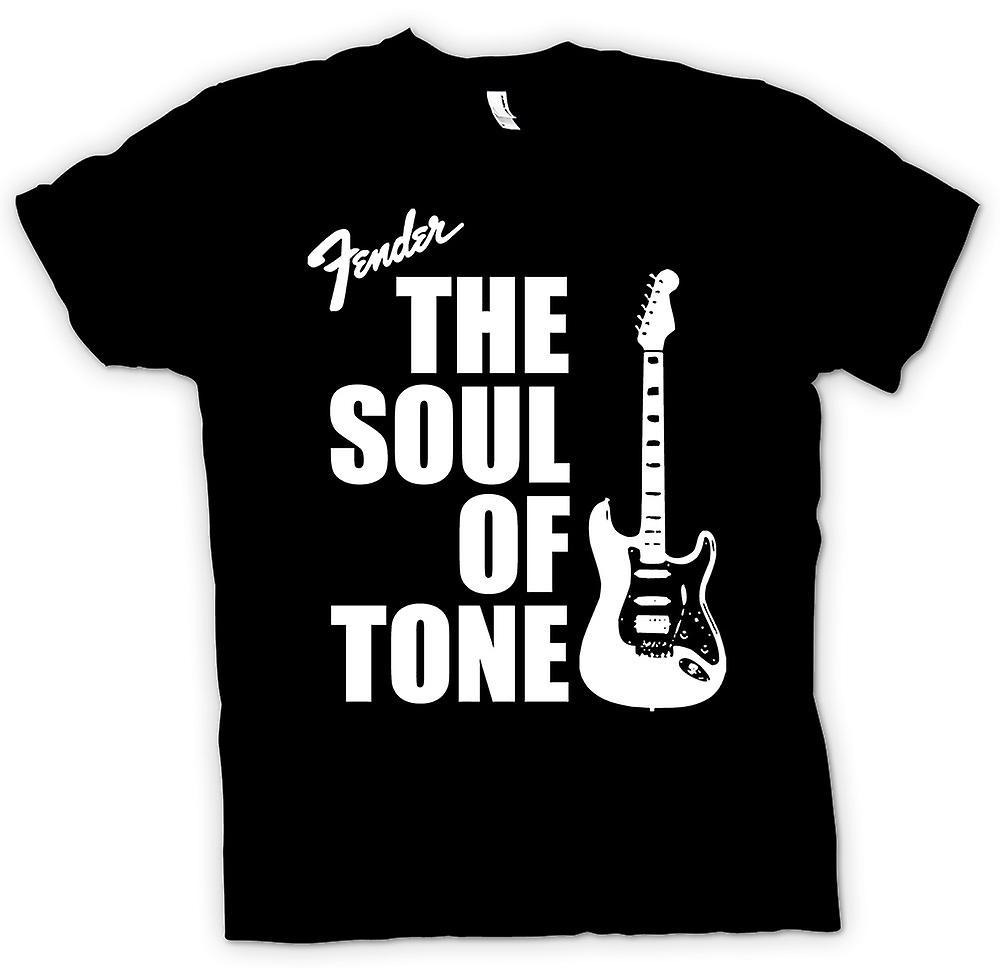 Kvinner t-skjorte-Fender Strat sjel Tone gitar