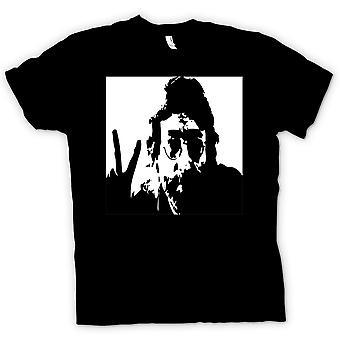 Herre T-shirt-John Lennon - Anti-krig