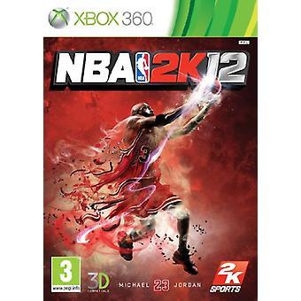 NBA 2K 12 (Xbox 360)