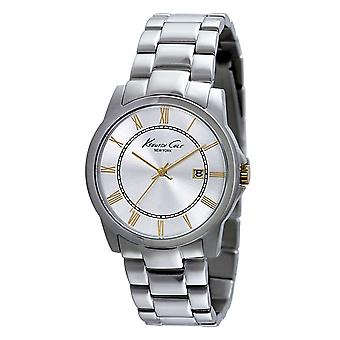 Kenneth Cole New York men's wrist watch analog stainless steel 1007939 / KC9211
