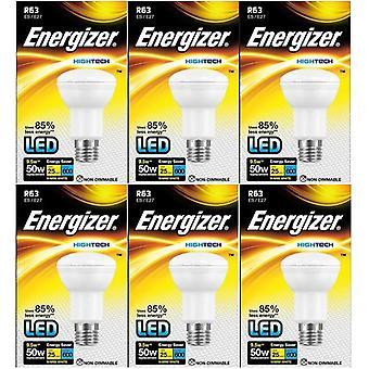 6 X Energizer Hightech LED R63 Reflector Bulb 9.5w = 50W[Energy Class A+]