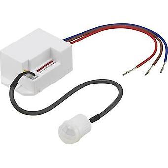 Renkforce 1362990 recesso-mount, detector de movimento PIR de teto 360 ° relé IP20 branco