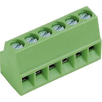 PTR-AKZ692/3-2,54-V-GRÜN Screw terminal 0,75 mm² aantal pinnen 3 groen 1 PC('s)
