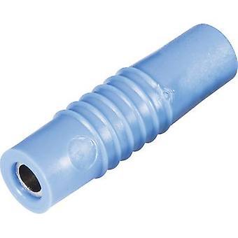 Schnepp KP 4000 L Jack socket Plug, straight Pin diameter: 4 mm Blue 1 pc(s)