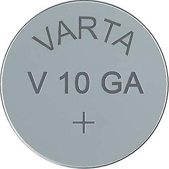 Button cell LR54 Alkali-manganese Varta Electronics AG10