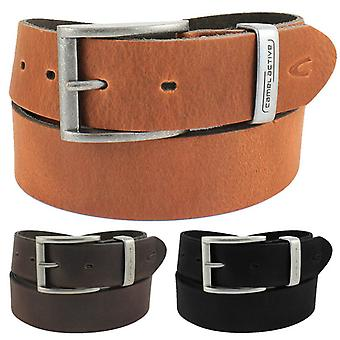 Camel active steel buckle leather belt 116-104