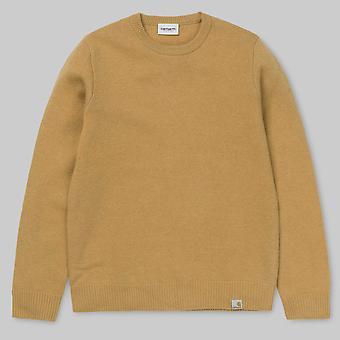 Carhartt WIP Allen Sweater Fawn