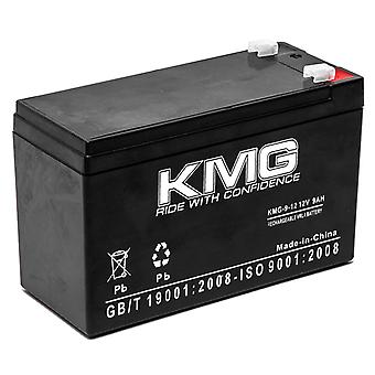 KMG 12V 9Ah Replacement Battery for Panasonic LC-WTV127R2 UP-RW1245P1