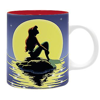 The Mermaid Cup sunset/white, printed, ceramic, 320 ml., in gift box.