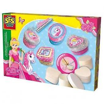 SES-Glitter Träume Schmuckschatullen machen