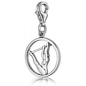 Charm »Stufenbarren«, Silber