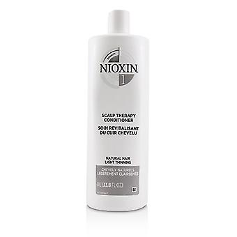 Nioxin Density System 1 Scalp Therapy Conditioner (natural Hair Light Thinning) - 1000ml/33.8oz