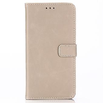 iPhone XR Retro wallet Pouch/Case Beige