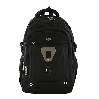 Backpack polyester Black