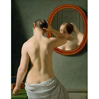 Отдых в нашей галерее, Кристоффер Вильгельм Eckersberg, 50x40cm