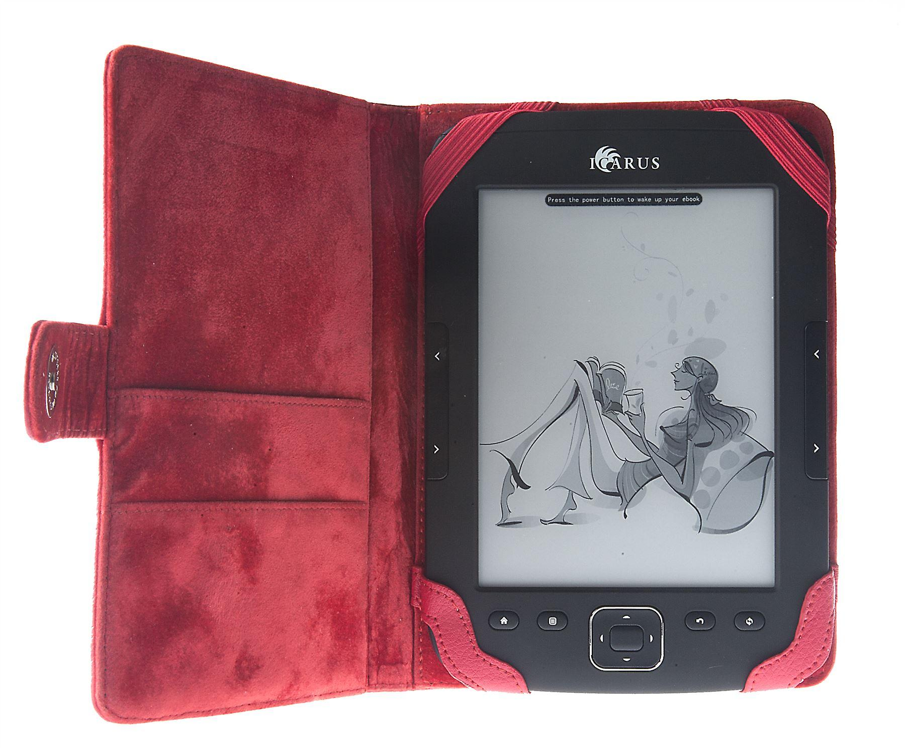 ICARUS cover red for Illumina HD/Pocket//Sense G2
