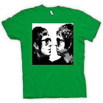 Camiseta para hombre - Liam y Noel - Oasis