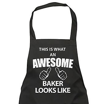 This Is What An Awesome Baker Looks Like Black Apron