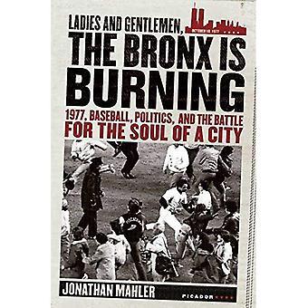 Mina damer och herrar, Bronx brinner: 1977, Baseball, politik och kampen för själen i en stad