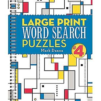 Grande impression Word rechercher Puzzles (spirale)