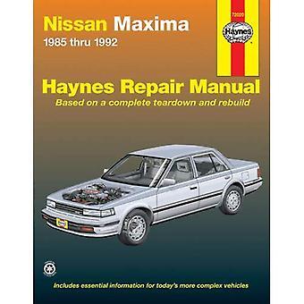 Nissan Maxima, 1985-1992