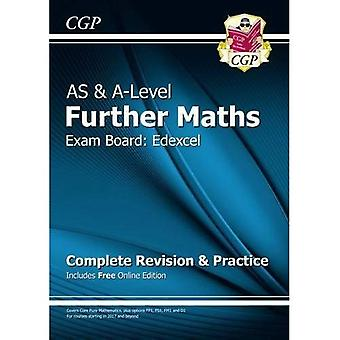 New AS & A-Level Further Maths for Edexcel: Complete Revision & Practice with Online Edition (Paperback)
