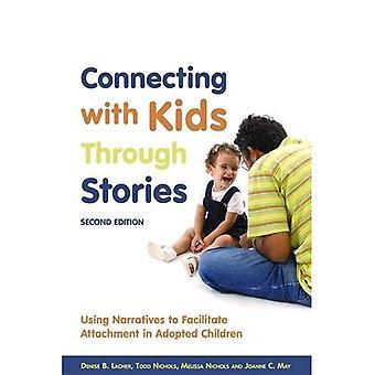 Conectando-se com crianças através de histórias: usando narrativas para facilitar a fixação no adotado crianças