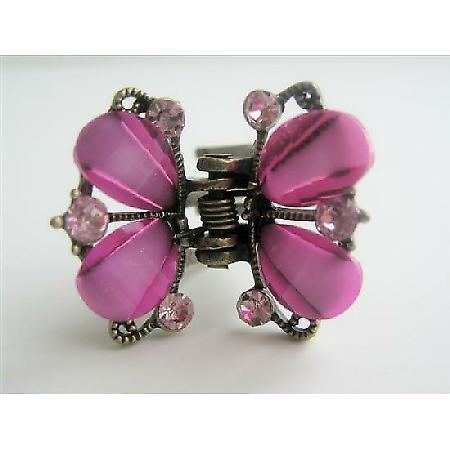 Hair Clip Butterfly Catcher Hair Clip