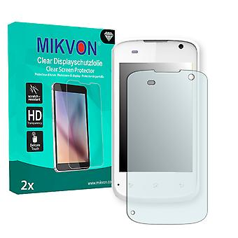Mobistel Cynus E1 Screen Protector - Mikvon Clear (Retail Package with accessories)